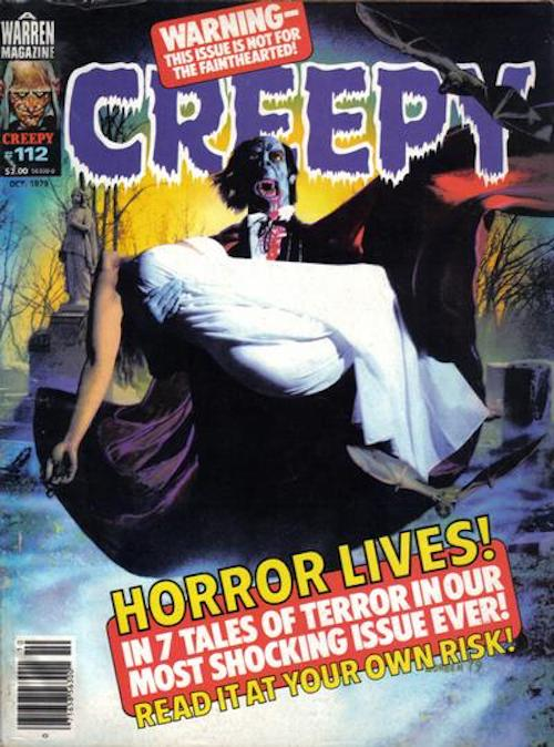 copertine richard corben creepy
