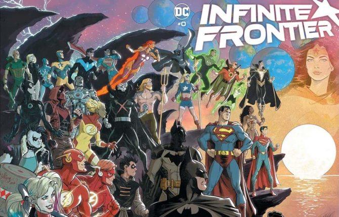 infinte frontier autori dc comics