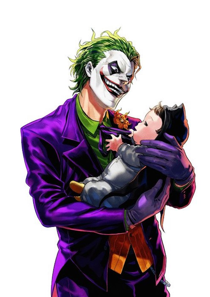 manga batman joker