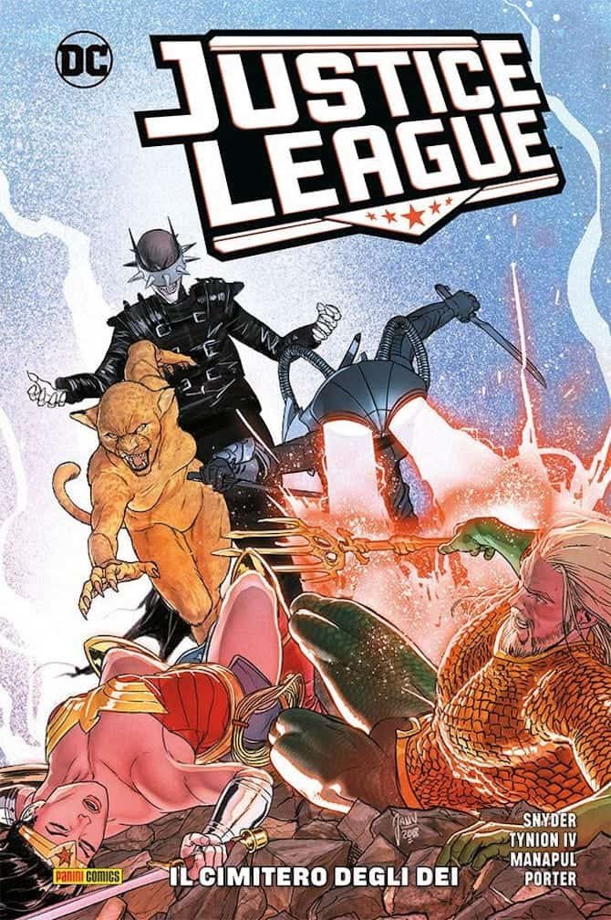 panini dc fumetti settimana justice league