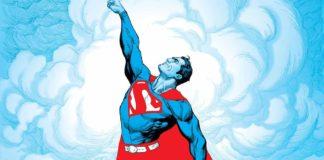 superman red blue dc comics