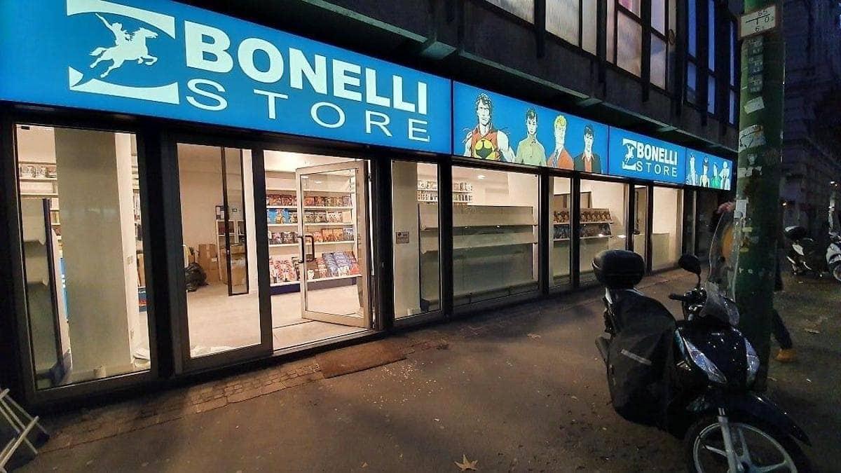 negozio bonelli store milano