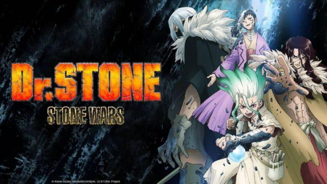 inverno anime crunchyroll 2021 dr stone stone wars