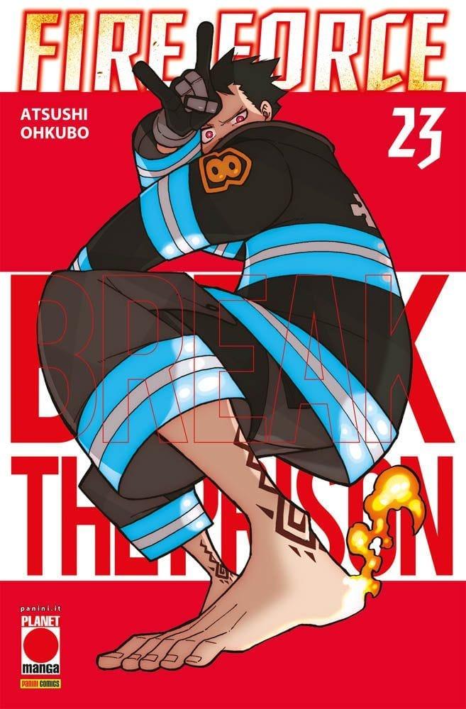 fire force 23 planet manga