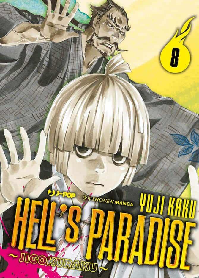 j-pop fumetti settimana hell's paradise