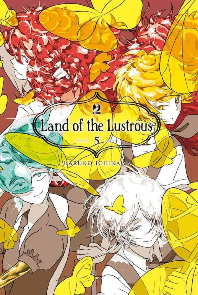 j-pop fumetti settimana land of lustrous