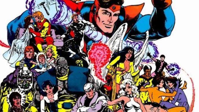 Legione dei Super-Eroi Steve Lightle