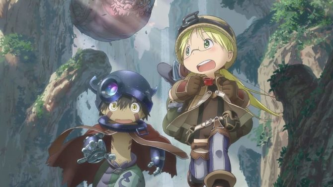 anime vvvvid gennaio made in abyss anime