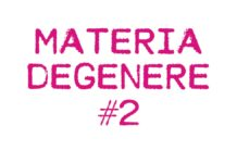 materia degenere 2
