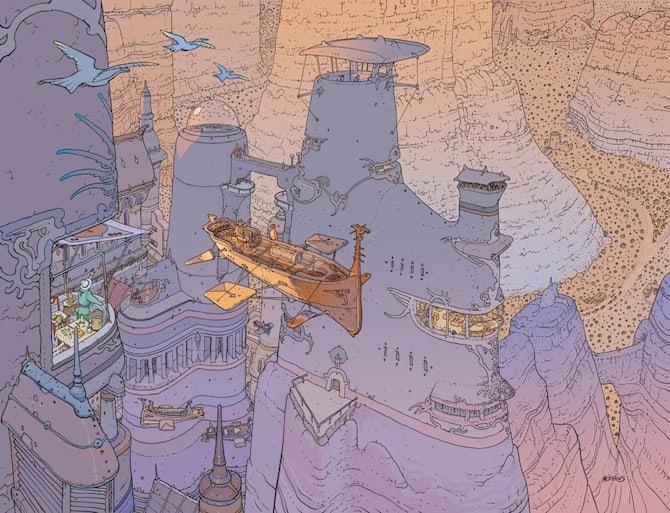 voyage hermes moebius