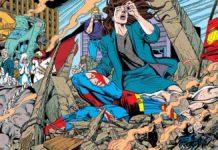 morte di superman fumetto dc