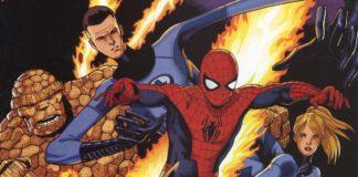 spider-man fantastici quattro