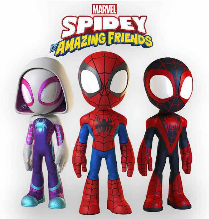 serie animate 2021 spidey and his amazing friends