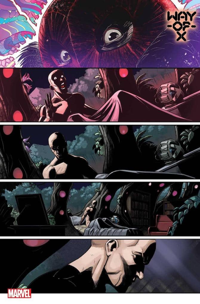 way of x marvel comics