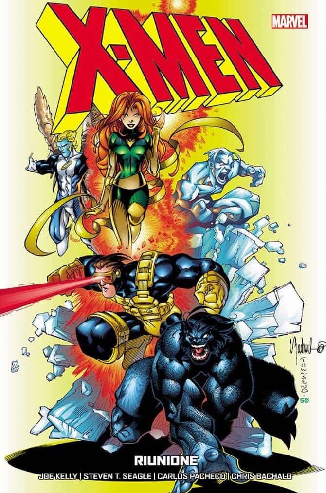 panini marvel fumetti settimana x-men