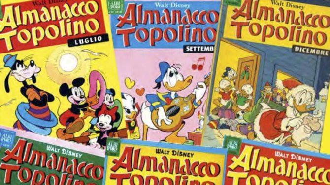 almanacco topolino panini