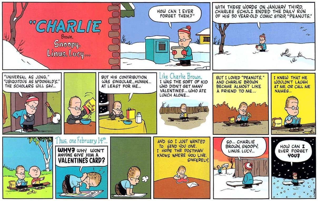 chris ware peanuts