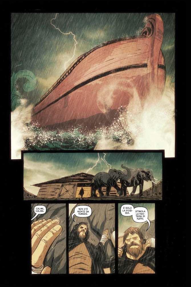 dark ark fumetto