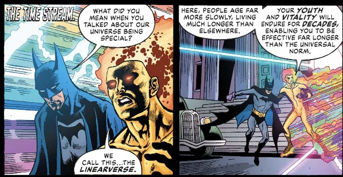 dc comics linearverse
