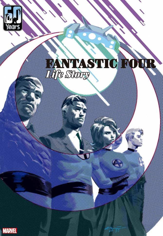 fantastic four life story fumetto marvel