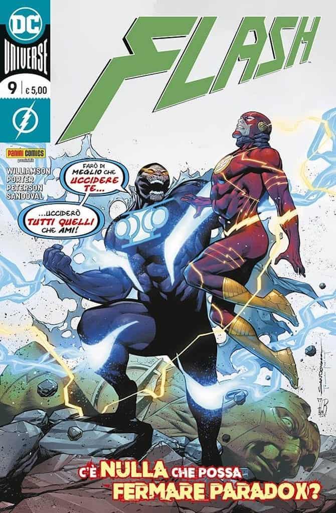 panini dc fumetti settimana  flash