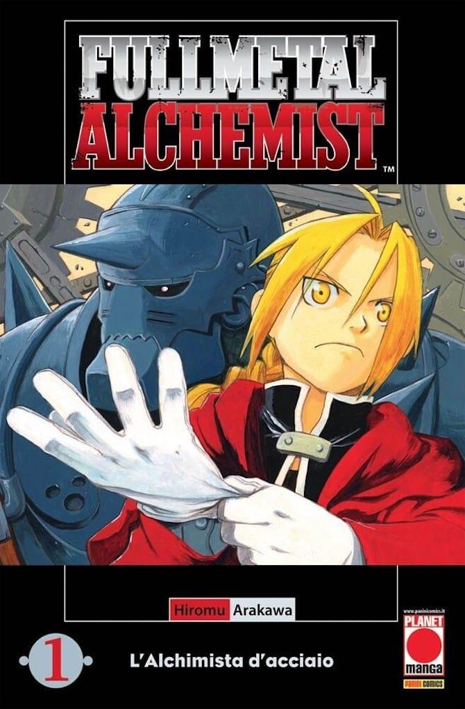 fullmetal alchemist manga fumetti 2001