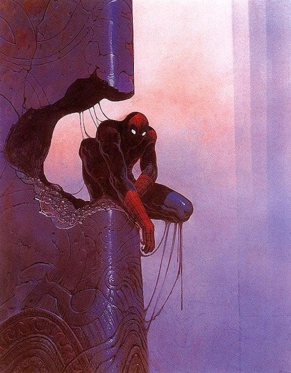 moebius supereroi spider-man