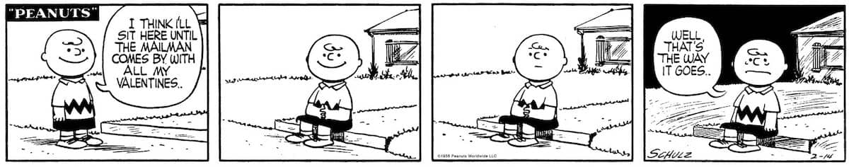 peanuts san valentino