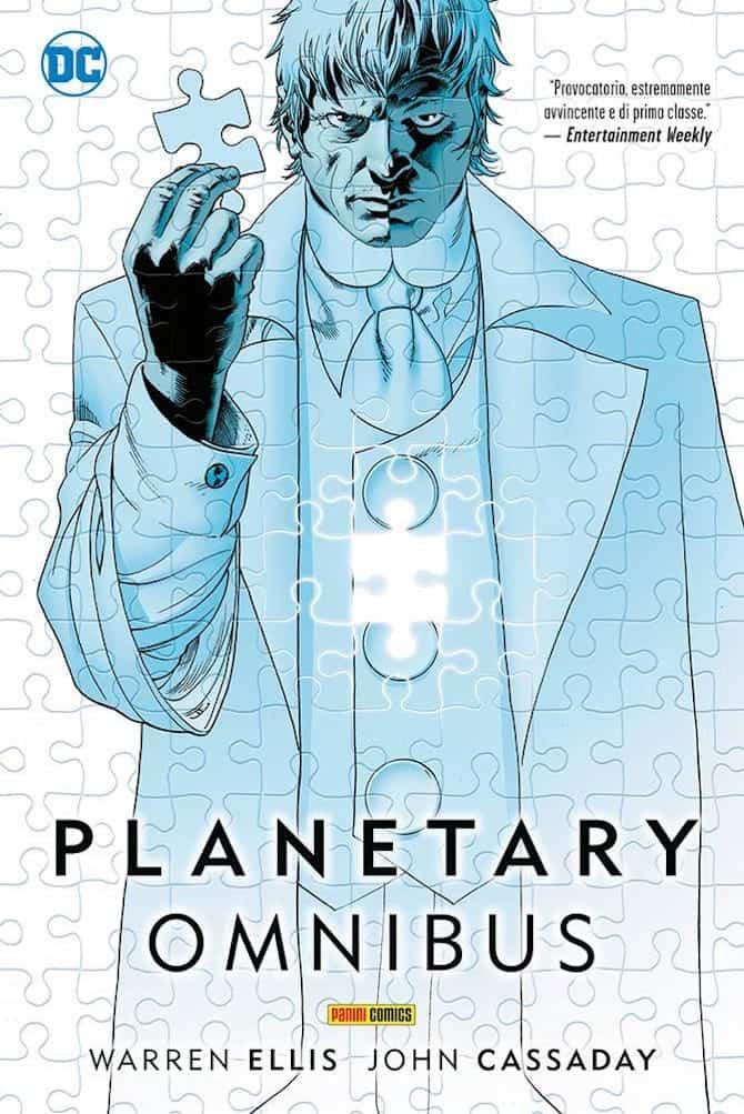 panini dc fumetti settimana planetary