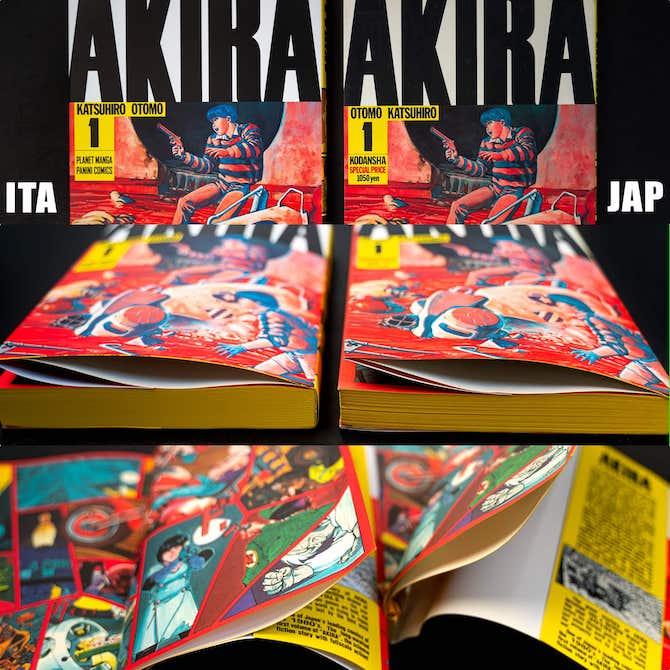 akira panini comics giapponese