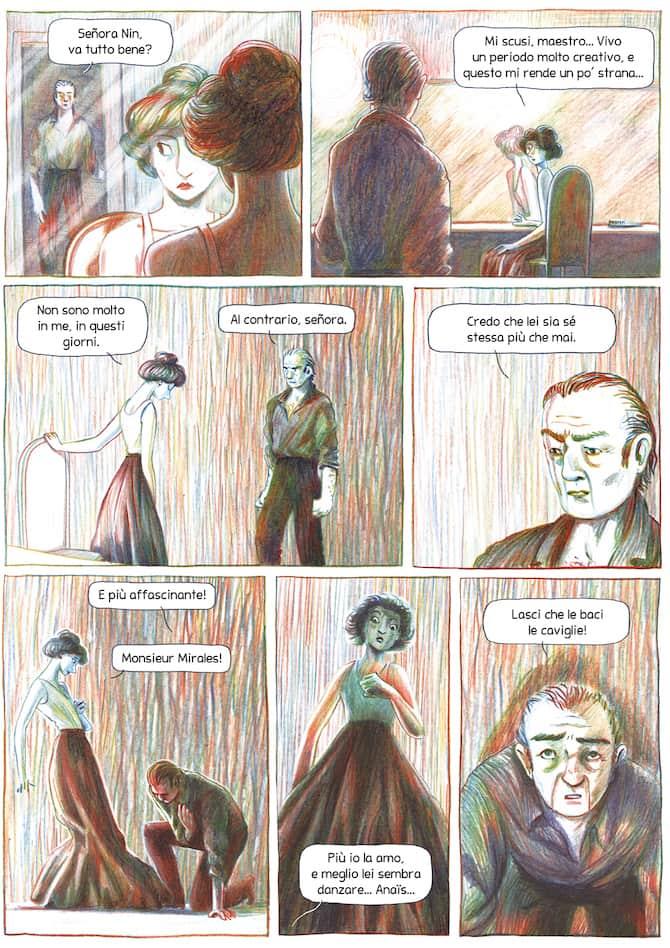 La vita di Anaïs Nin a fumetti - Fumettologica