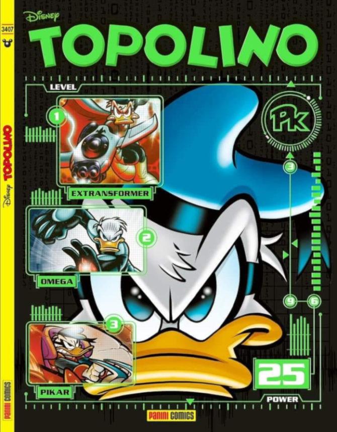 Topolino 3407 cover variant