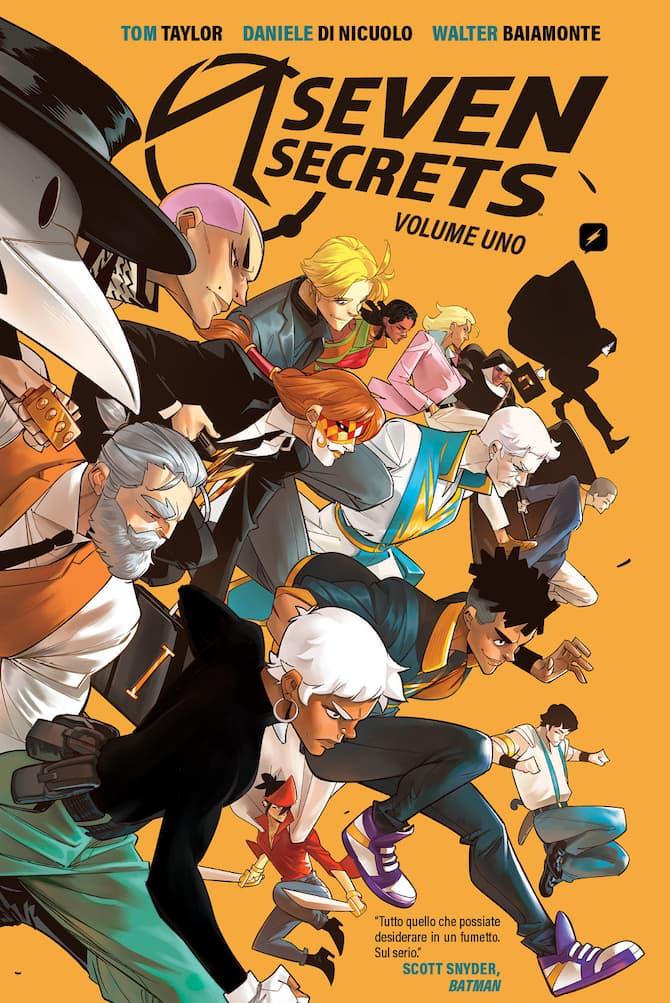 seven secrets nuovi fumetti edizioni bd
