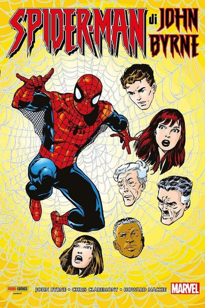 panini marvel fumetti settimana spider-man john byrne