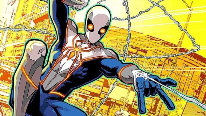 nuovo costume spider-man fumetti marvel