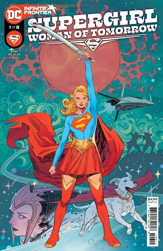supergirl woman of tomorrow tom king fumetto dc