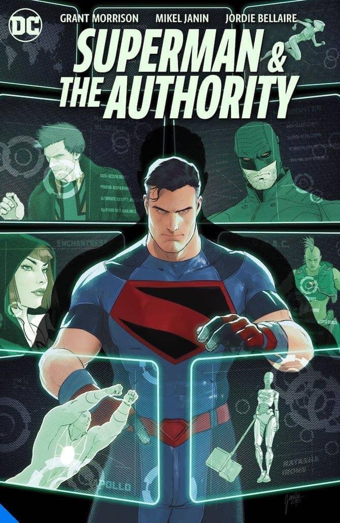 superman authority grant morrison dc comics