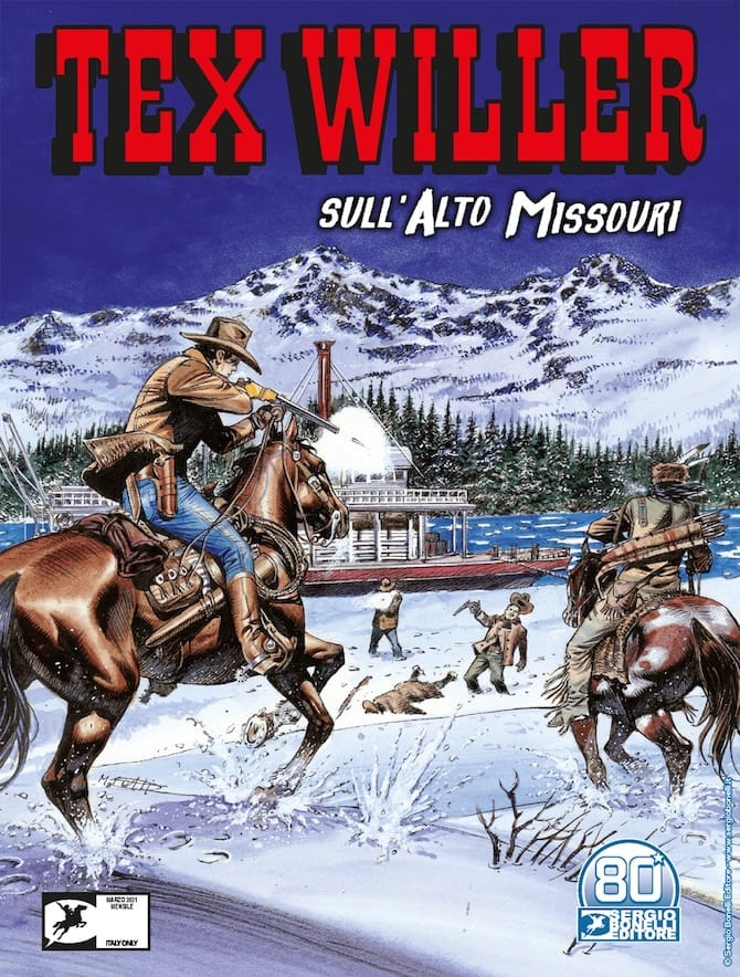tex willer 29 sull'alto missouri kit carson