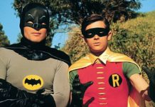 adam west batman burt ward robin