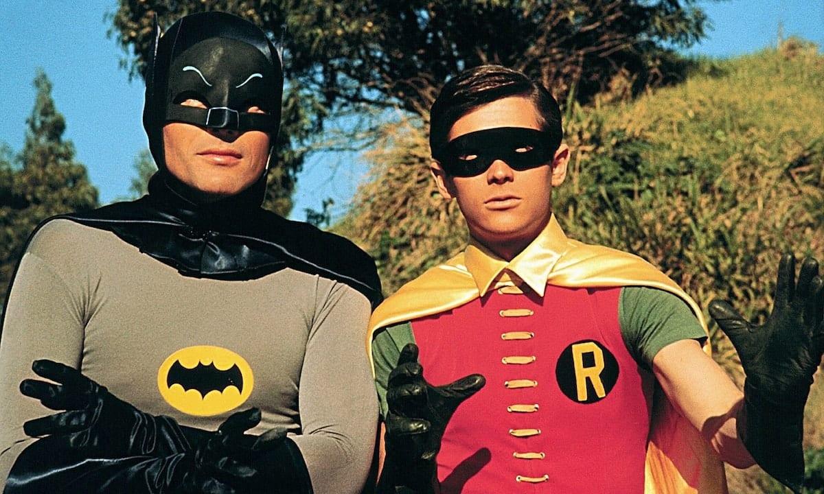 serie tv batman adam west burt ward robin