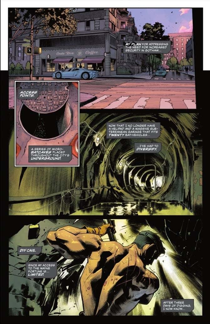 batman nuova batcaverna detective comics