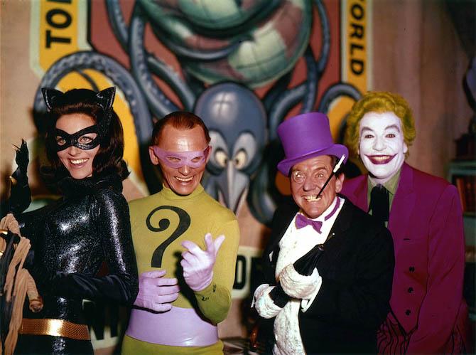 nemici batman serie tv anni 60