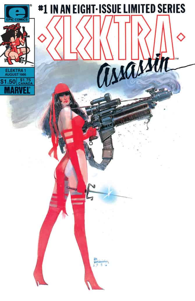 bill sienkiewicz elektra assassin