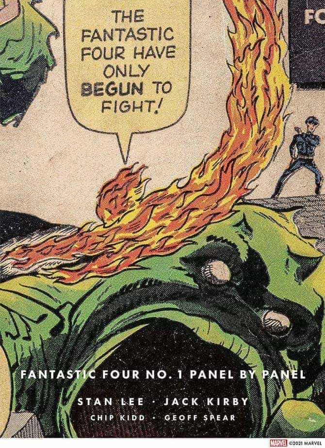 Fantastic Four 1 Panel by Panel chip kidd marvel comics