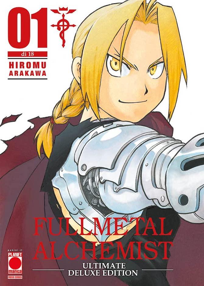 fullmetal alchemist ultmate deluxe edition planet manga settimana panini