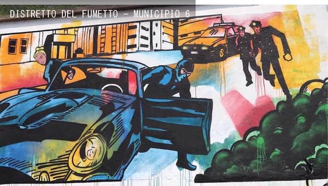 murale diabolik milano