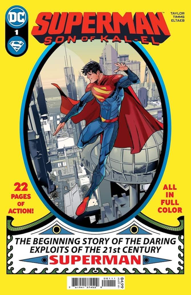 nuovo superman dc comics son kal el