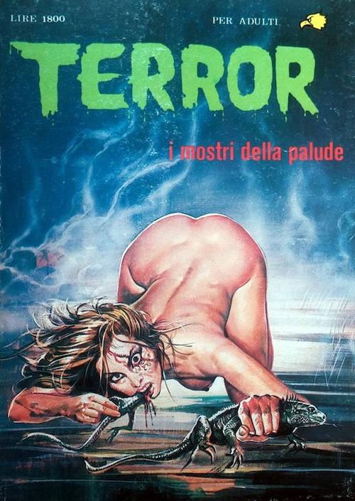 fumetti horror enzo sciotti