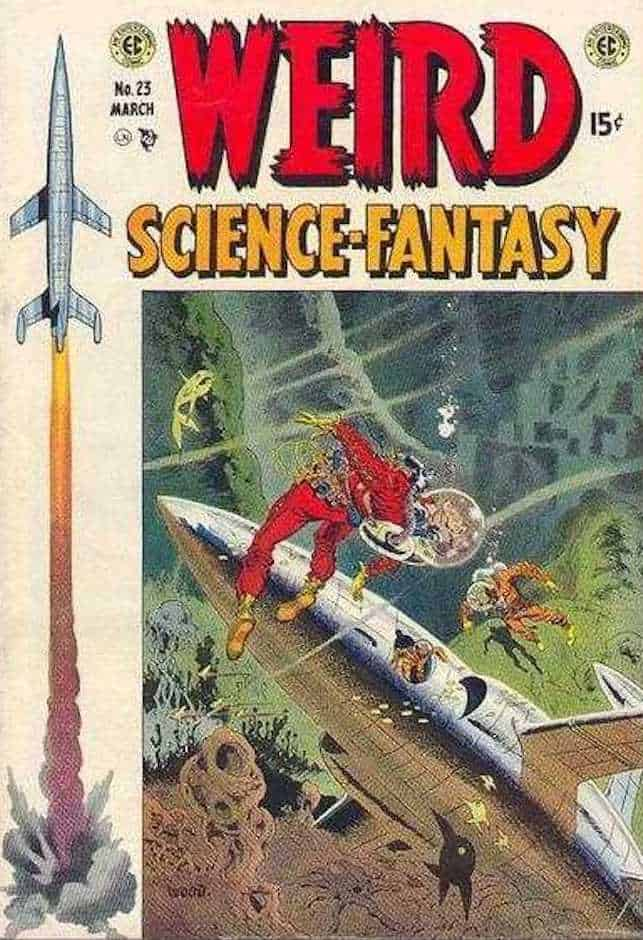 wally wood copertine fantascienza