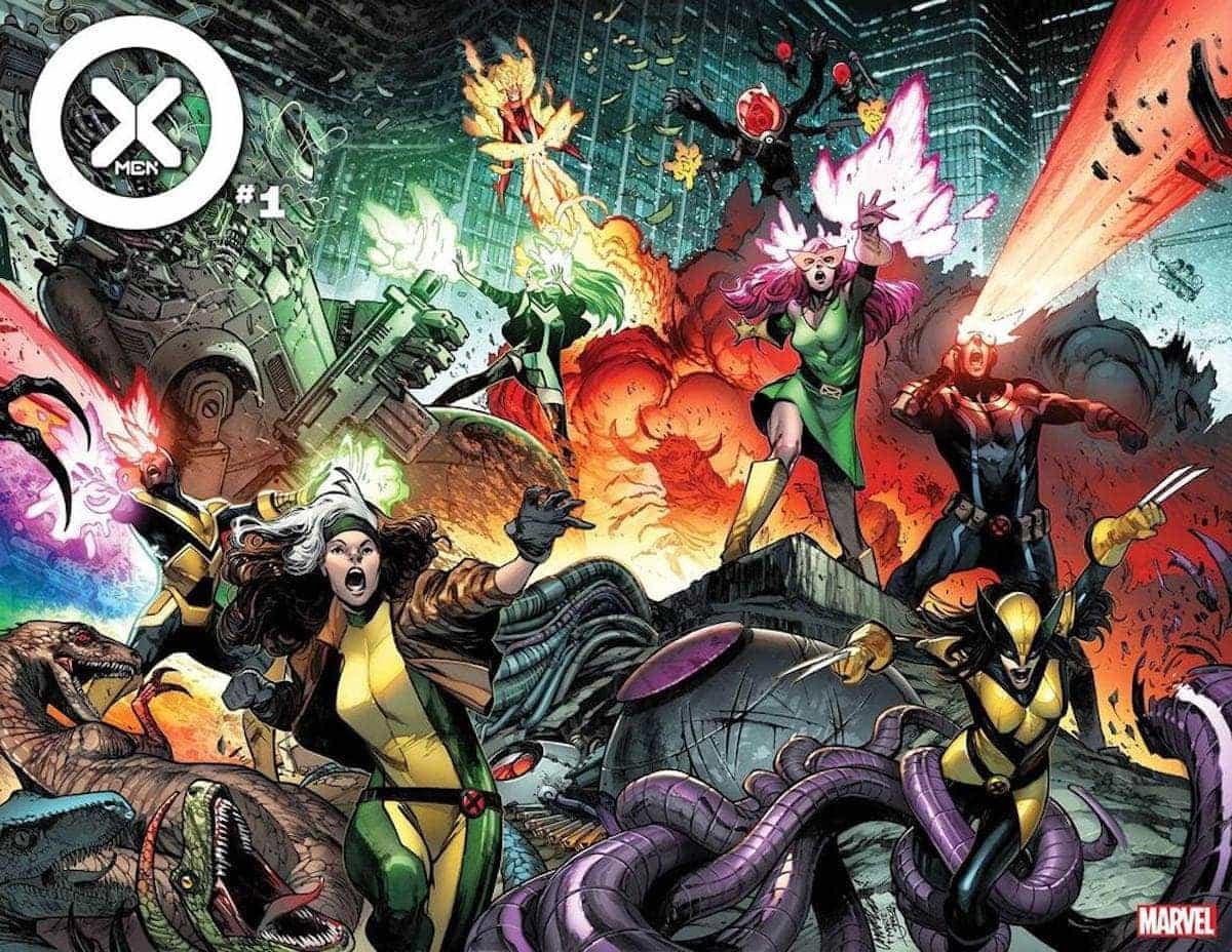 i nuovi x-men marvel comics 2021